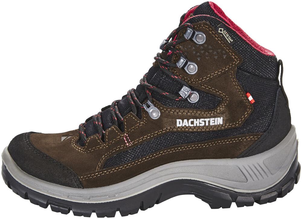 Dachstein Schober MC GTX Shoes Women dark brown/cranberry UK 4 OW0eHqb9n